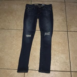 AG Super Skinny Ankle Jeans Size 25